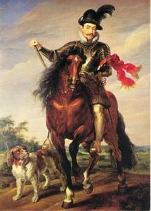 Ruiterportret van Sigismund III (1566-1632), koning van Zweden en Polen