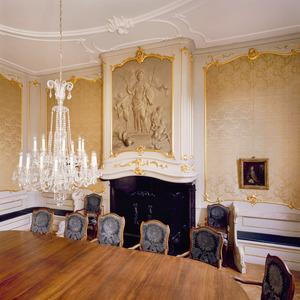 Lodewijk XV schorosteenboezem met grisaille