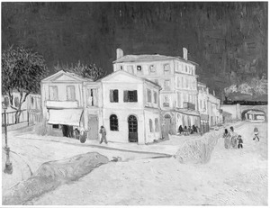 Van Gogh's woning aan de place Lamartine in Arles