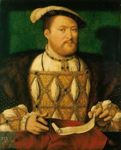 Portret van Hendrik VIII (1491-1547), koning van Engeland