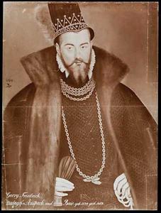 Portret van Markgraaf Georg Friedrich von Brandenburg-Ansbach-Bayreuth