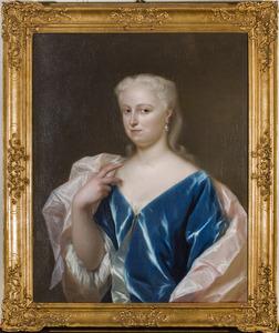 Portret van Geertruid Noorthey (1707-1760)