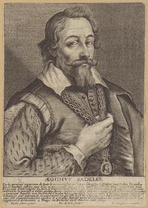 Portret van Aegidius Sadeler (1570-1629)