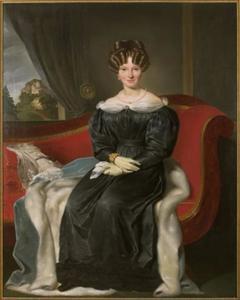 Portret van Antoinetta Margaretha Brasker (1805-1834)