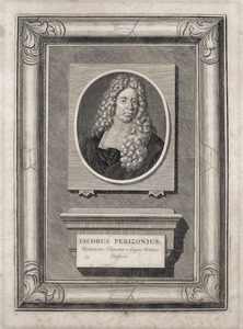 Portret van Jacobus Perizonius (1651-1715)