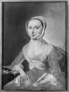 Portret van Antonia Johanna Charlotta de Lille (1746-1832)