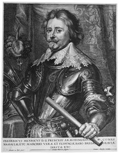 Portret van Frederik Hendrikvan Oranje-Nassau (1584-1647)