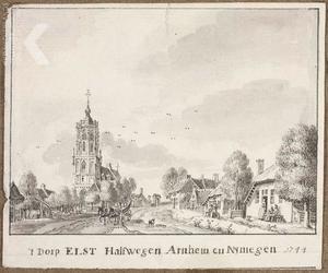 Het dorp Elst