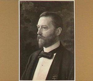 Portret van Jan VI Six (1857-1926)