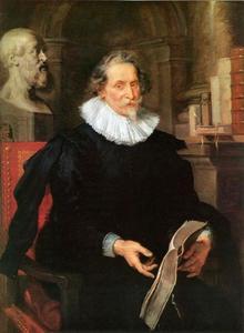 Portret van de Antwerpse humanist Ludovicus Nonnius (Núnez) (1553-1645)