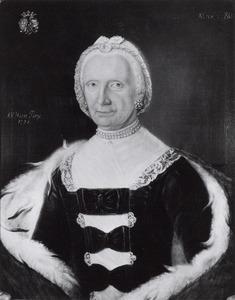 Portret van Adriana Eleonora Catharina Hofman van Someren ( -1776)