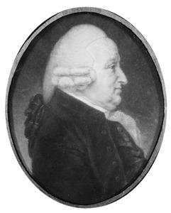 Portret van Johannes Luchtmans (1726-1809)