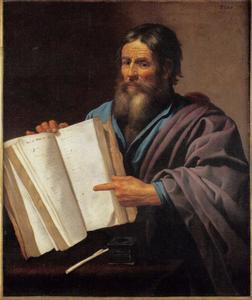 De profeet Mozes met de Wet