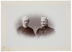 Portret van Frederik Harman van de Poll (1823-1909) en Henriette Wilhelmine van de Poll (1829-1909)