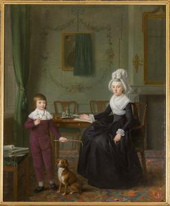 Portret van Maria Susanna van Collen (1751-1822) en Jan Cornelis Teding van Berkhout (1784-1844)