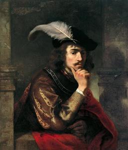 Portret van een jonge man, mogelijk een zelfportret