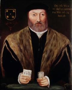 Portret van Maerten (Marten) Boedeker