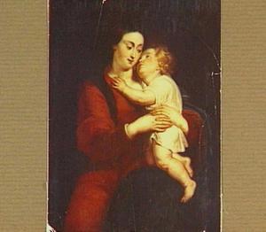 Maria en Christus als kind