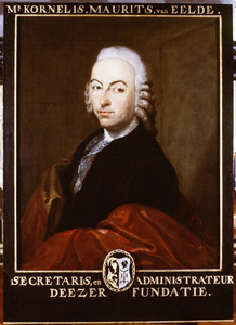 Portret van Kornelis Maurits Eelde (1726-1787)