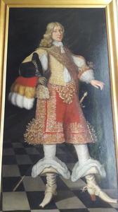 Portret van Gustav Adolph hertog van Mecklenburg-Güstrow (1622-1695)