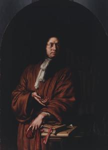 Portret van Lucas van Rijp