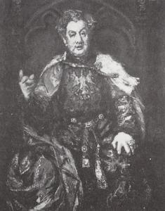 Portret van Louis de Vries (1871-1940)