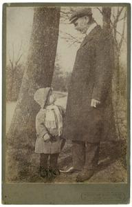 Portret van Johannes Feikema (1877-1947) en Johannes Feikema (1909-1977)