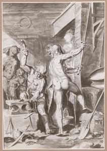Venus in de smidse van Vulcanus (Aeneis 8:370-385)