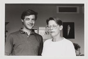Portret van Karel Schampers en Monie Broos
