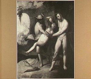 Lara door Jupiter en Mercurius bestraft