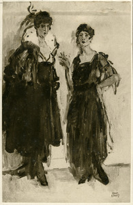 Hirsch, Ippy en Gertie staand