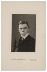 Portret van Wilhelm Marius Bowier (1890-1918)
