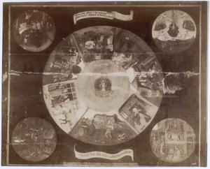 Tafelblad met de zeven hoofdzonden