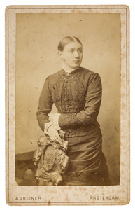 Portret van Catharina Elisabeth de Vries (1866-1938)