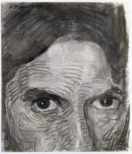 Self-portrait, eyes