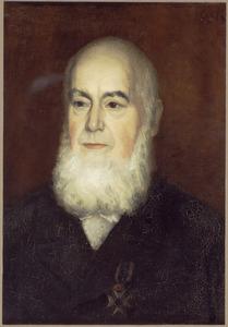 Portret van Helenius de Cock (1791-1868), vader van de schilder