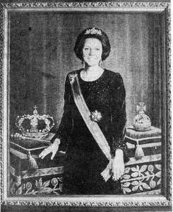Portret van koningin Beatrix (1938- )