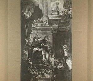 De keizerskroning van Karel V te Bologna