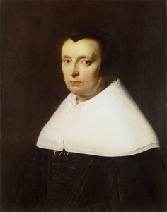 Portret van Anna Westerbaen (....-1663)