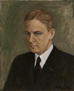 Portret van Johan Gerbrand Koopmans (1900-1958)