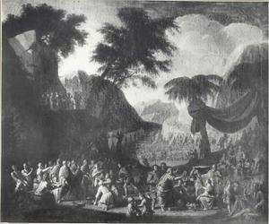 De inzameling van het Manna (Exodus 16)