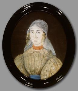 Portret van Elizabeth Voogd (1809-1841)