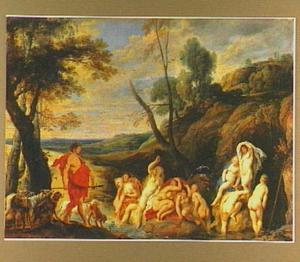 Diana en Actaeon (Ovidius, Met.III, 138-252)