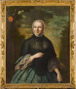 Portret van Charlotte Jacoba van Haeften (1732-1784)