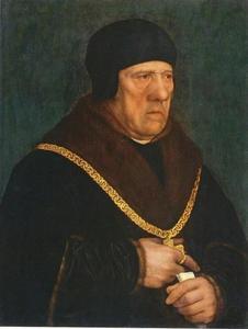 Portret van Sir Henry Wyatt (1460-1537)