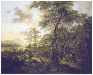 Zuidelijk berglandschap