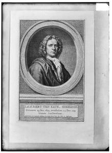 Portret van Lambert ten Kate (1674-1731)