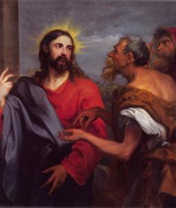 De cijnspenning voor Caesar (Matteüs 22: 15-22)