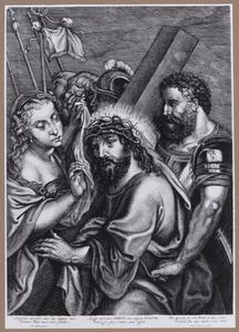 De ontmoeting van de H. Veronica en Christus tijdens de kruisdraging