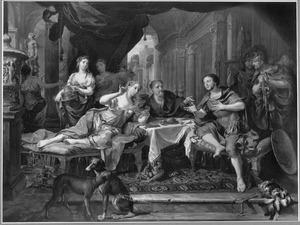 Het banket van Antonius en Cleopatra